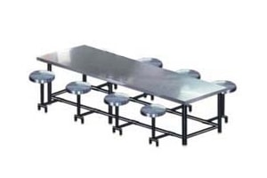 Canteen Tables Manufacturer in Gurgaon, Canteen Tables Suppliers in Delhi, India | Destiny Seatings